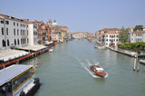 Fairway to Venice by boat and water poster