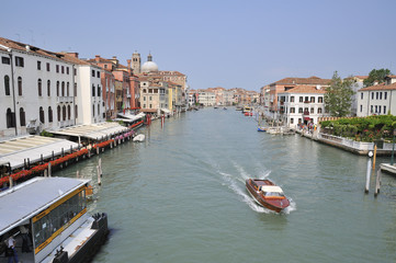Fairway to Venice by boat and water