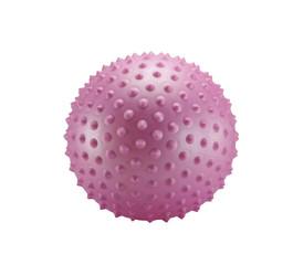 Pink spiky ball