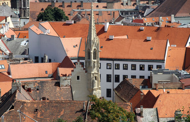 Bratislava-view from the castle