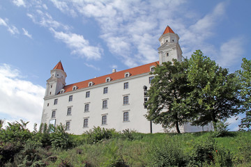 Bratislava castle after renovation