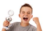 Fototapety Sieger-Typ - Ergeiziger jugendlicher Sportler