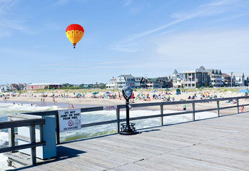 The beach in Ocean Grove