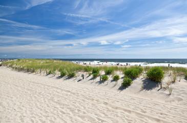 The beach in Ocean Grove