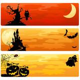 Fototapety Halloween banners