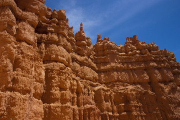 Hoodoos in the Bryce Canyon National Park