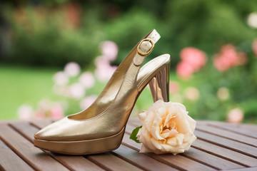 Goldschuh und Rose