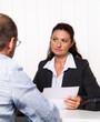 Beratungsgespräch bei Rechtsanwalt oder Steuerberater