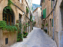 Gassen in Valldemossa