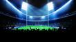 American football arena, stadium