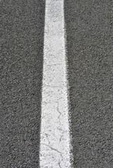 black asphalt