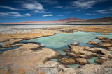 Salar de Tara, desert Atacama, Chile poster