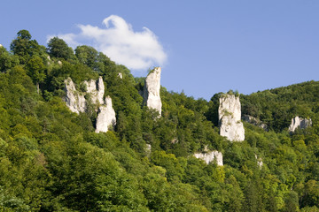 Canyon bei Burg Wildenstein