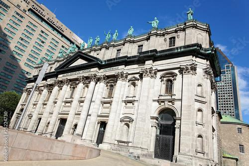 Kathedrale Marie-Reine-du-Monde in Montreal