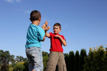 Child fighting