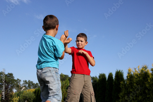 Child fighting