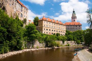 Castle in Cesky Krumlov (Czech Republic) - UNESCO
