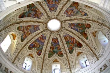 Fresco on the roof
