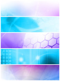 abstract galaxy - perfect background with space poster