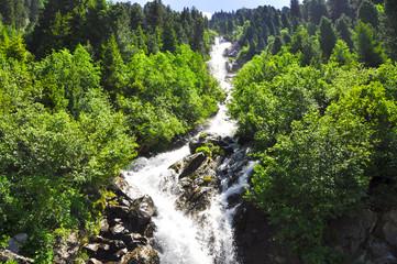 Wurmetalbach - Wasserfall - Kaunertal Österreich