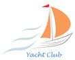 Yacht, sailboat.