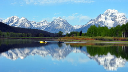The Grand Tetons from Oxbow Bend