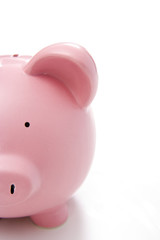 Close-Up Of Piggy Bank