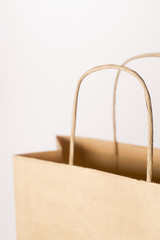 Close-Up Of Brown Paper Bag