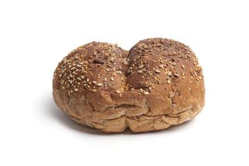 Whole single fresh multi-grain roll