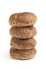 Fresh multi-grain rolls