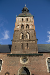 Bell tower of Riga Dome, Latvia