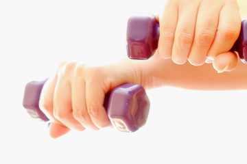 Dumbbell exercise