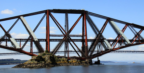 Forth Rail Bridge, Queensferry, Scotland