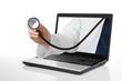 Ärztliche Beratung über das Internet