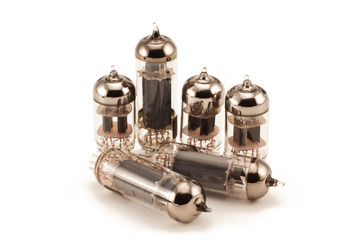 Six vacuum glass valves