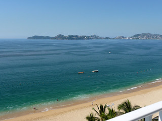 plage acapulco Mexique