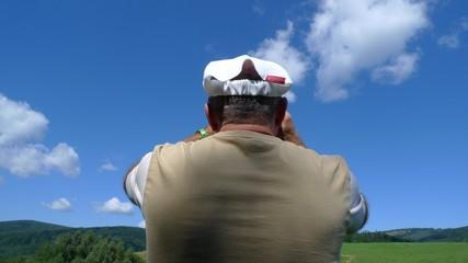 Observer with binocular