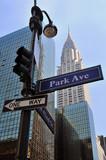 Fototapety Park Ave & East 42nd St