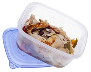 Leftover Roasted Chicken