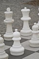 große Schachfiguren