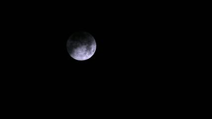Nachthimmel bei Vollmond