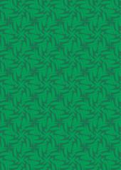 幾何学グリーンパターン