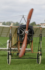 Front of a Bleriot XI