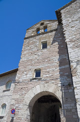Madonna delle Rose Church. Assisi. Umbria.
