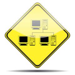 Señal red informatica