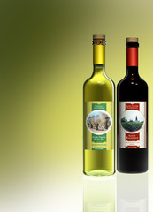 Balsamico Essig und Olivenöl