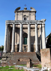 Temple of Anontius and Faustina Forum Romanum