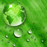 Fototapety environmental energy concept