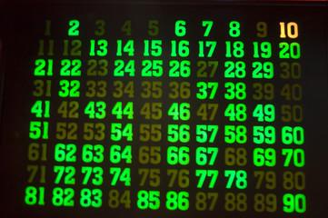 Juego de Bingo 334