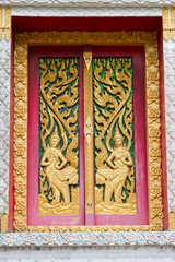 Thai temples window